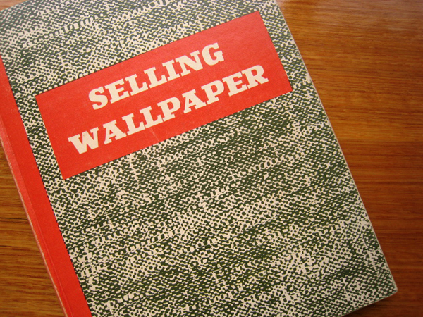Selling wallpaper wallpaper council new york 1956 kt for Selling wallpaper