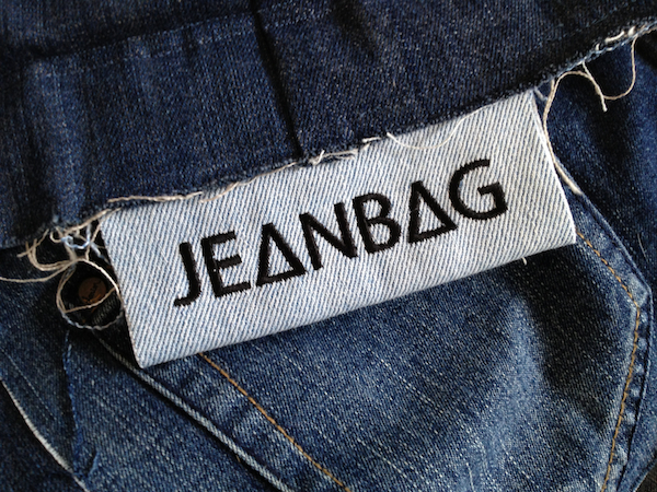 JEANBAG Embroidered Label
